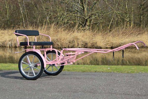 "Gig ""Cavalettie"" mit Bremse, rosa"